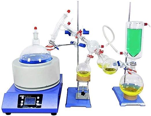 NSDFG Experimento químico Dedicado Heat Escala Destilación Equipo ...