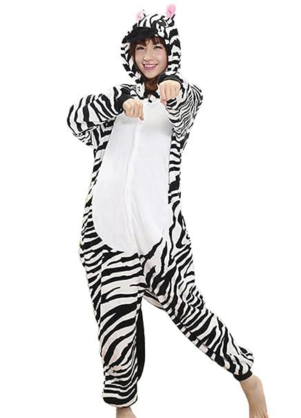 Happy Cherry - Traje de Disfraz Cosplay Halloween de Animal Pijama Entero para Hombre y Mujer