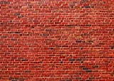 Red Brick Wall Photography Backdrop Vintage Office Decoration Photo Background for Photography Wrinkles Free (20x10ft)