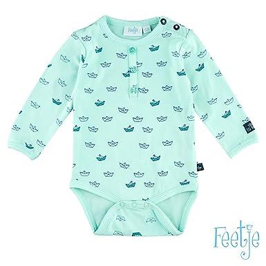 Feetje - Body - Bébé (garçon) 0 à 24 mois - Vert - 1 mois  FEETJE ... dda8a82f365