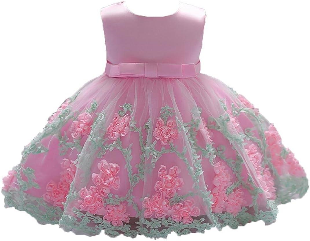 Toddler Kids Baby Little Girls Denim Tutu Tulle Dress Princess Party Dresses VV