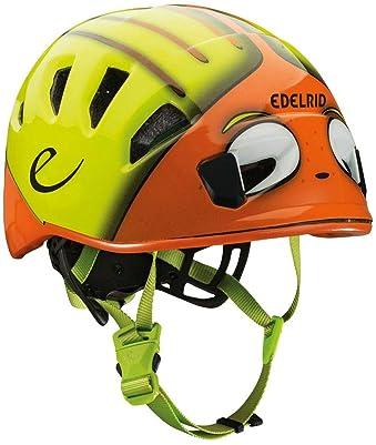 EDELRID - Shield II Kids' Softshell Climbing Helmet, Sahara/Oasis
