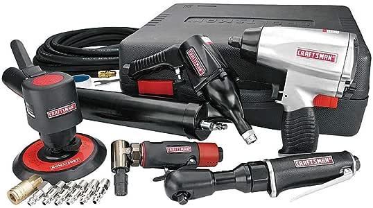 CRAFTSMAN NEW 10 Piece Mechanics Air Tool Set Impact Ratchet Wrench /& Air Hammer