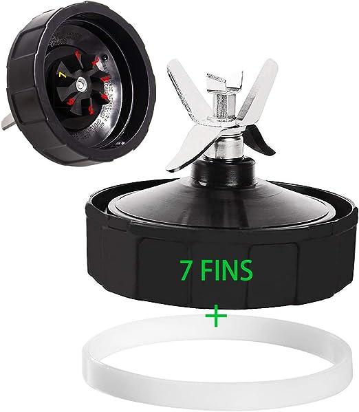 Amazon.com: 7 aletas de repuesto para licuadora Ninja Auto ...