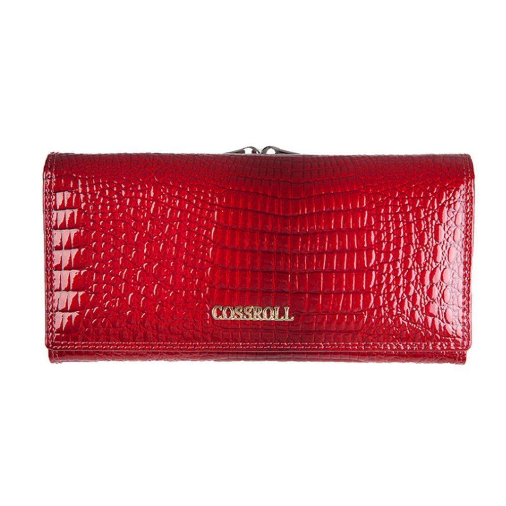 Leather Wallets for women Crocodile Grain Purse Luxury Genuine Leather Cluth Wallet Ladies Bag
