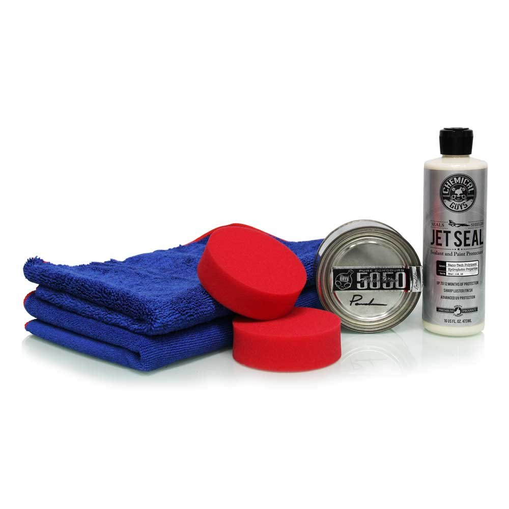 Chemical Guys HOL_101 - JetSeal 109 & 5050 Paste Wax Ultimate Shine & Protection Kit (6 Items)