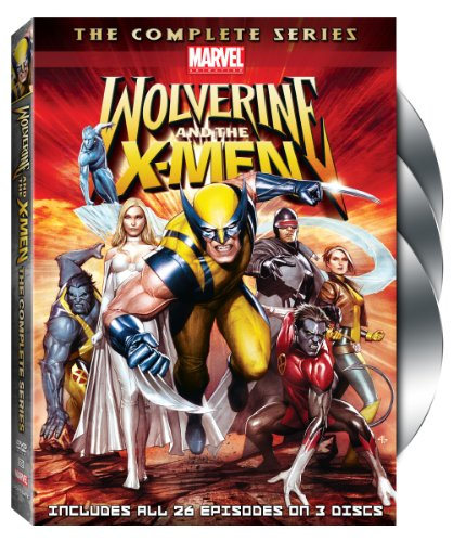 Wolverine and the X-Men: The Complete Series (Spiderman Cartoon Dvd)