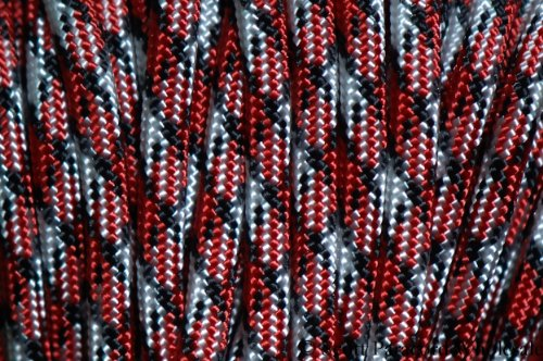 ZOMBIE! BITE 550 Paracord - Parachute Cord - 7 Strand Military Spec Type III -USA MADE - 100 ft ()