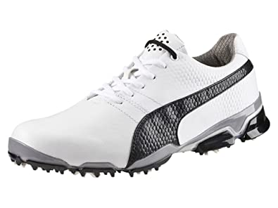 0ad9ce7ad744 Puma Titantour Ignite Men Golfschuhe Golf white leather 188656 03   Amazon.co.uk  Shoes   Bags