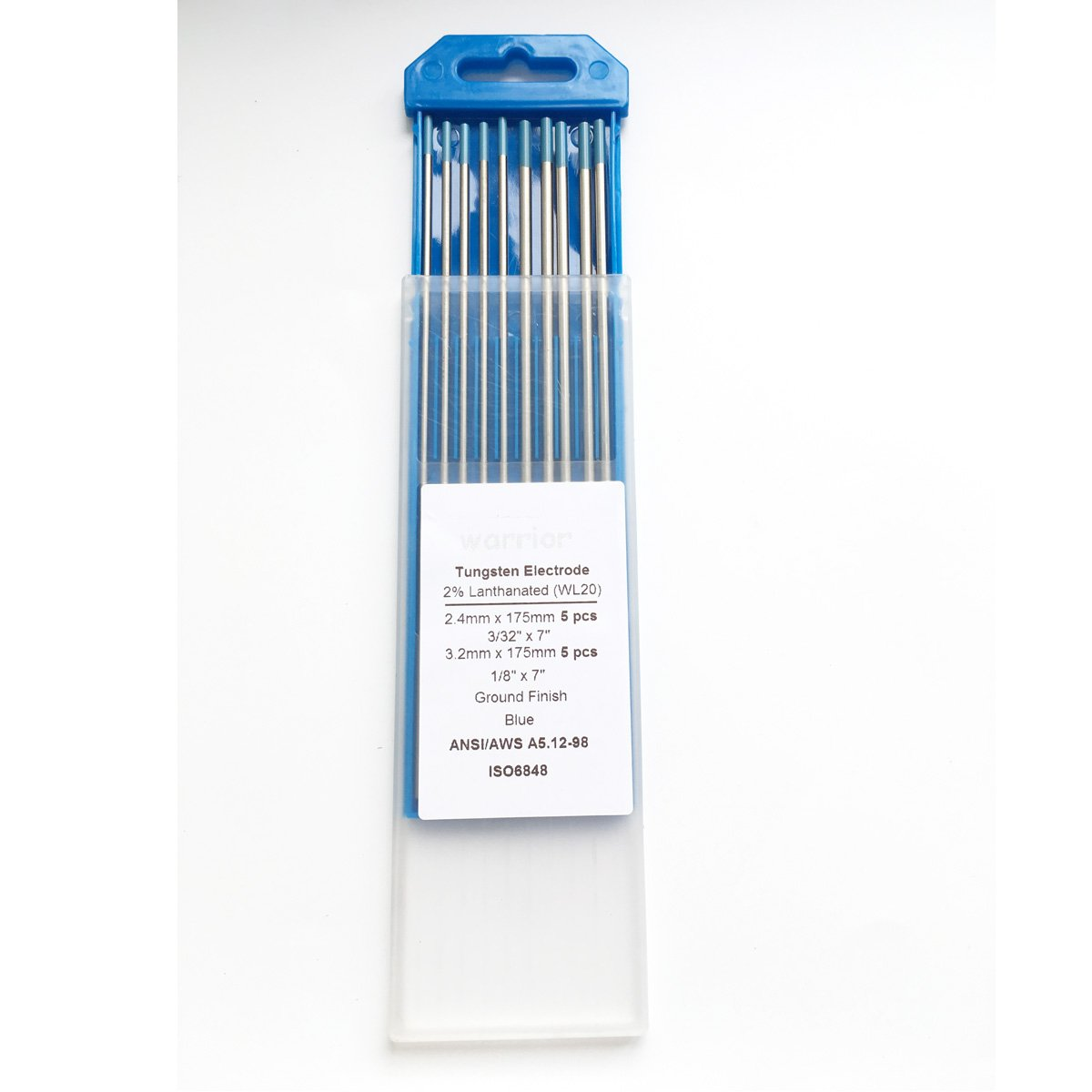 5PCS 3//32 5PCS 1//16 Tungsten Electrodes for Tig Welding 2/% Grey Ceriated Tungsten Assorted