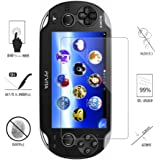 Hapurs PlayStation Vita PCH-1000専用 PS Vita 1000 強化ガラス 液晶保護フィルム 硬度9H 厚さ0.3mm (2枚組)