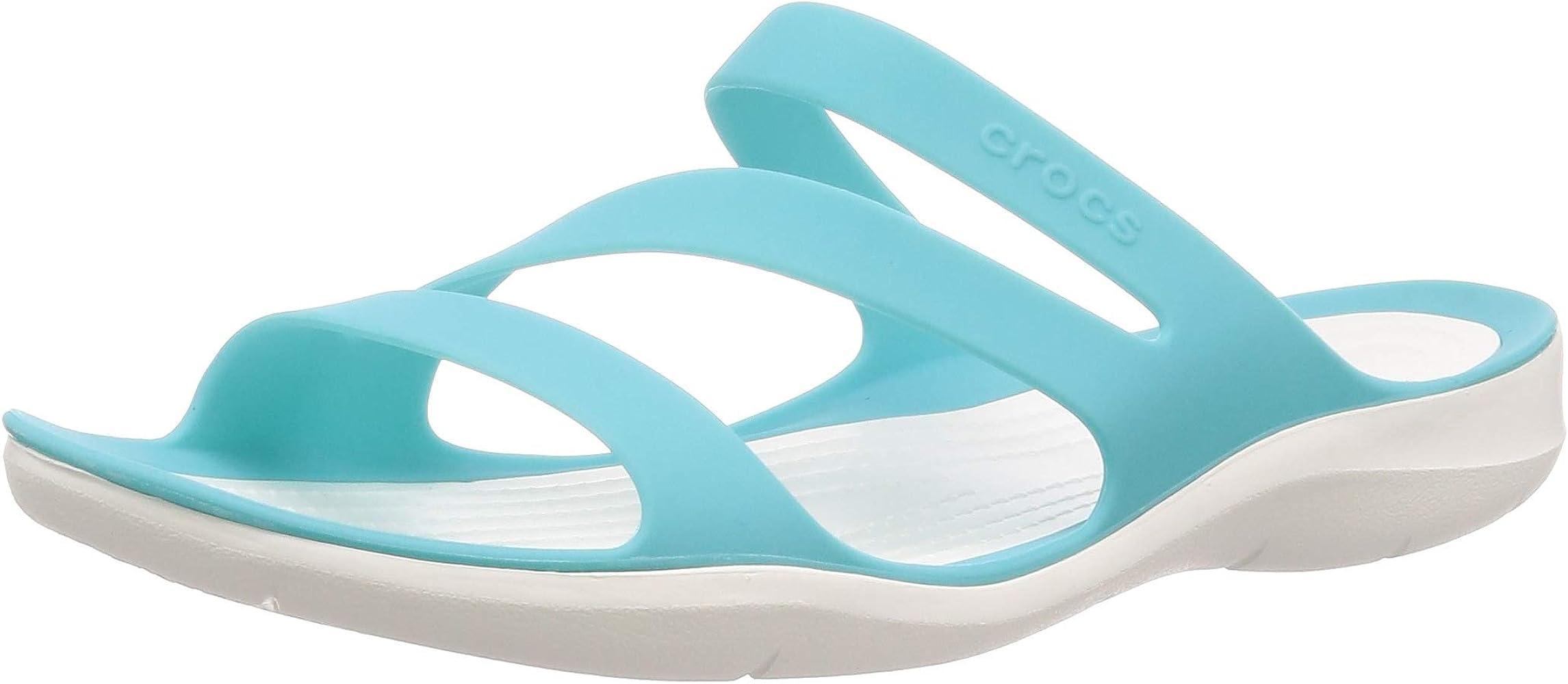 Womens Crocs Swiftwater Sandal Cut Out Lightweight Sea Summer Beach Shoe