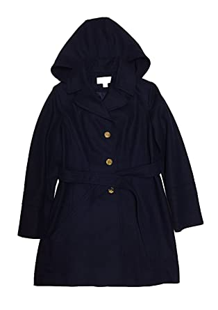 3038eb8c3031c Amazon.com  MICHAEL Michael Kors Women s Wool-blend Hooded Walker ...