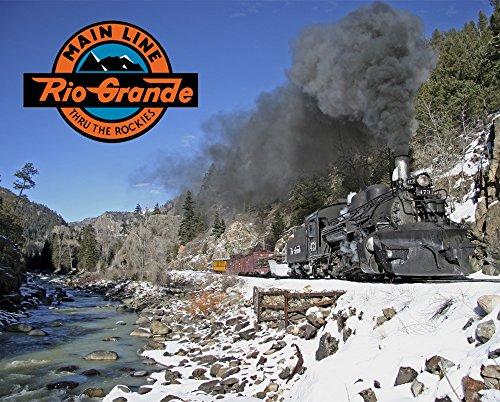 Denver & Rio Grande Western Railroad 473 Along the Animas River 8