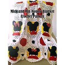 Mic and Min Mousie Blanket Crochet Pattern