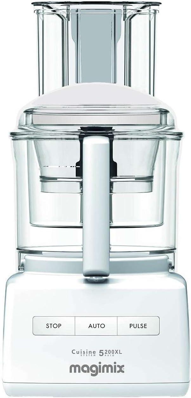 MAGIMIX Robot De Cocina Compact 5200 Xl Plata/Blanco: Amazon.es: Hogar