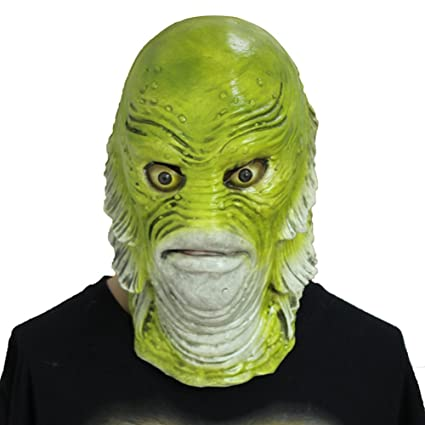 Amazon.com: QTMY - Máscara de látex para cosplay, Halloween ...