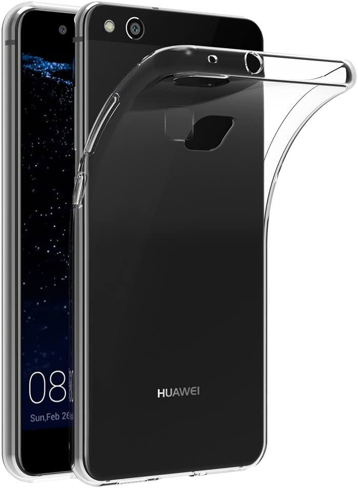 Cover Huawei P10 Lite, AICEK Cover P10 Lite (5.2 Pollici) Silicone Case Molle di TPU Trasparente Sottile Custodia per Huawei P10 Lite