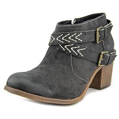 f050c3ae522 Amazon.com | Roxy Womens Janis Closed Toe Ankle Fashion Boots Black ...