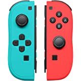 Left and Right Controllers for Nintendo Switch as a Joy Con Controller Replacement Support Wake up Function with Joy-Con…