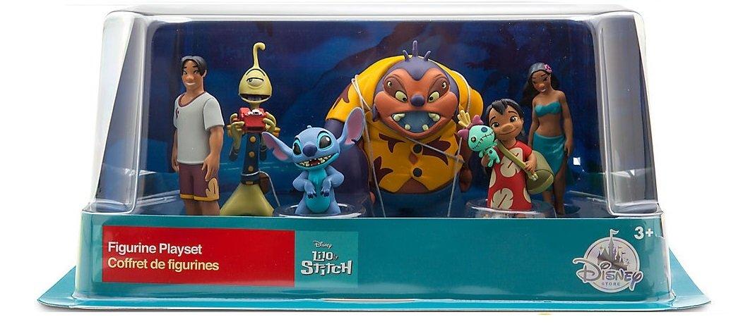Disney LILO & STITCH FIGURINE PLAYSET Cake Toppers Set of 6 pvc doll Figures by Disney (Image #2)