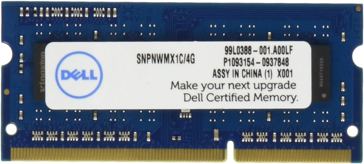 Dell Module PC Memory SNPNWMX1C/4G