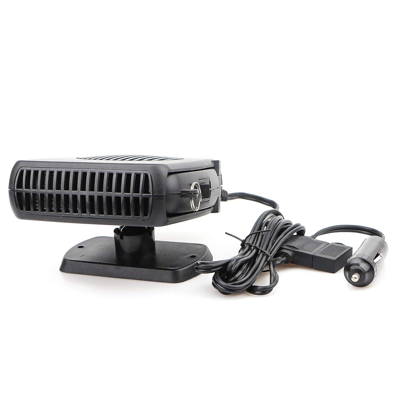 2 in 1 Portable 12V 150W Heater Defroster Fan Car Vehicle Ceramic Heater Defroster Demister Fan