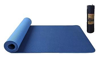 Estera de yoga extra gruesa alfombra de ejercicio de 6mm ...