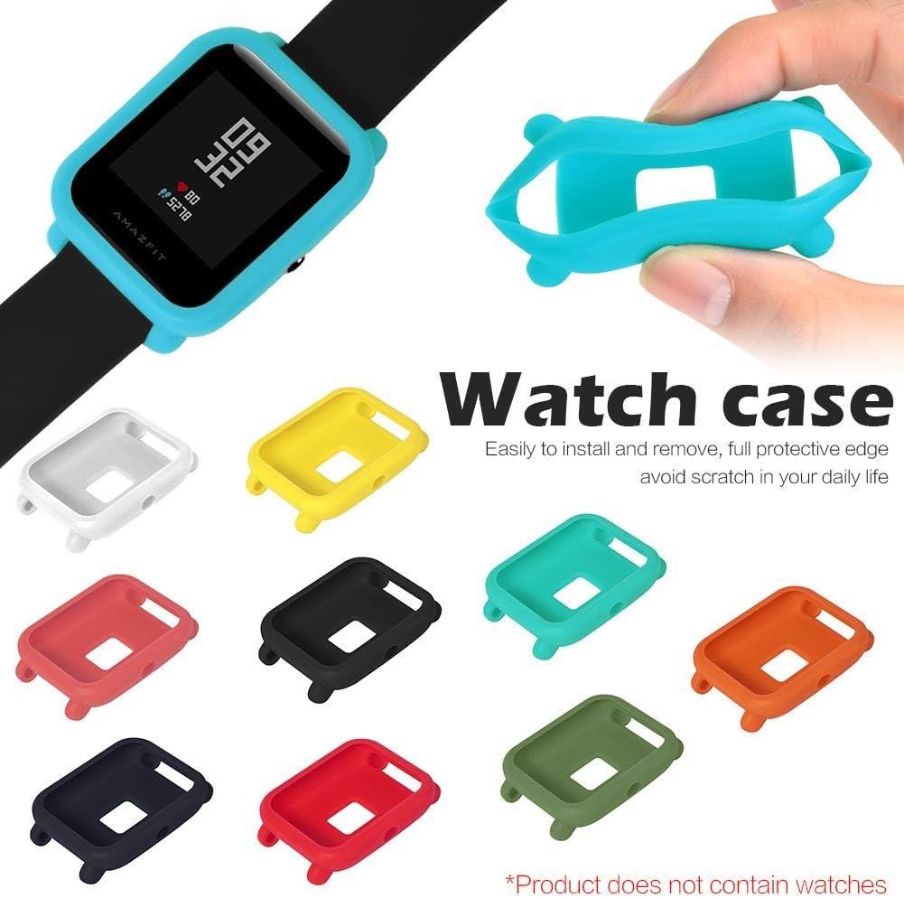 Smartwatch Protector Case Funda Moda Slim Colorido Marco Caso Cubierta Proteger Shell para Xiaomi Huami Amazfit Bip Younth