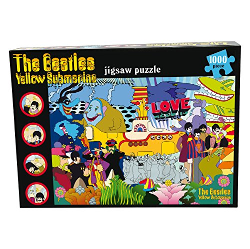 Paul Lamond Games Beatles Yellow Submarine Puzzle (1000-Piece)