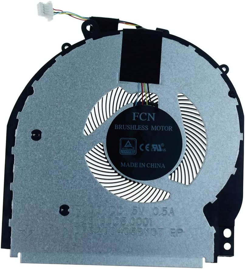 Rangale CPU Cooling Fan Replacement for HP Pavilion X360 14-CD 14-CD005NS 14M-CD 14M-CD0001DX 14M-CD0003DX Series Laptop L18222-001