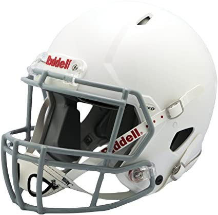 Riddell Victor Youth Helmet White Gray Sports Outdoors
