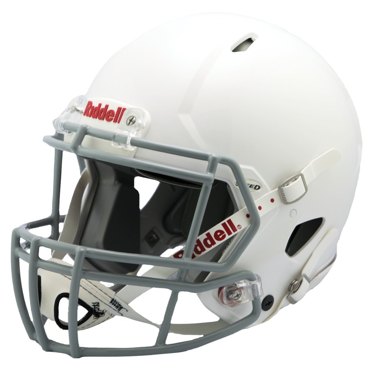 Riddell Speed Youth Football Helmet, White/Gray, Small