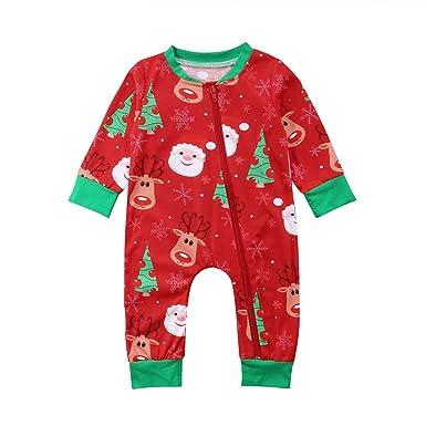 Amazon.com: Lamuusaa - Traje de Navidad para bebés y niños ...