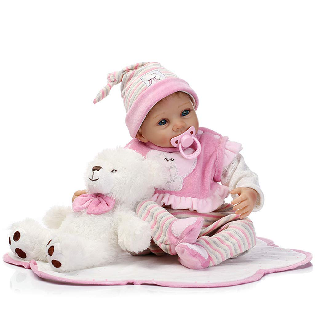 Birdfly Type:6101 Reborn Toddler Smile Baby Doll Sit Lovely Girl Silicone Lifelike Toy 3-7 Days Arrive Ship by DHL