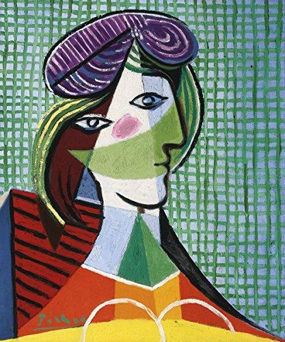 Pablo Picasso - Tete De Femme, Canvas Art Print, Size 20x24, Canvas Print Rolled in a Tube (Tete Classic A-tete)