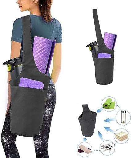Amazon.com: Auflyee - Bolsa para esterilla de yoga con ...