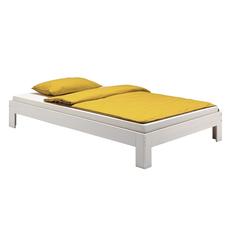 Exquisit Einzelbett Weiß Sammlung Von Idimex Futonbett Thomas 100 X 200 Cm