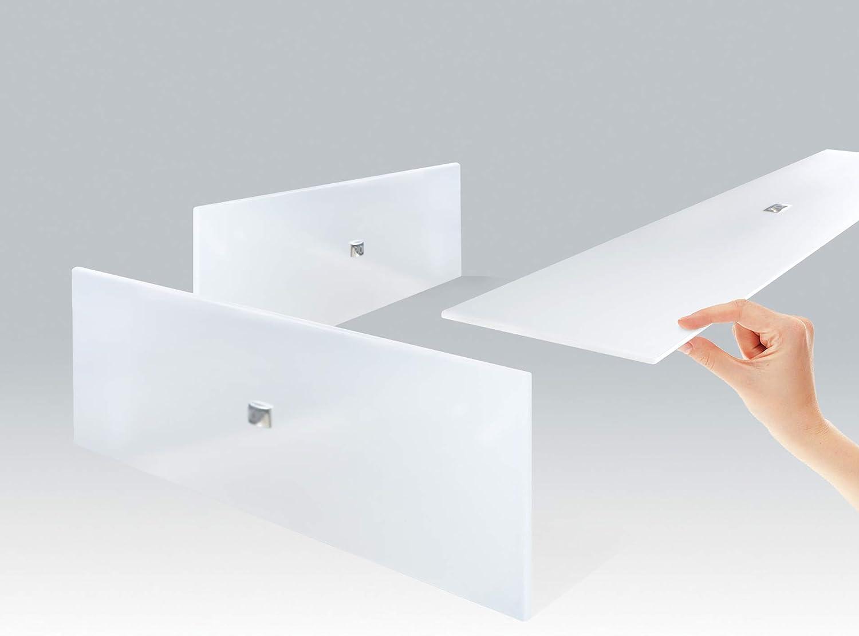 Bianco PION Twiggy TG 440 W Pannello Radiante a Infrarossi in Vetro Design Elegante e Prestazioni Elevate Ultrasottile 10 mm Garanzia 5 anni.
