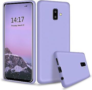 HUOTAI Funda para Samsung Galaxy J6 Plus Líquido de Silicona ...