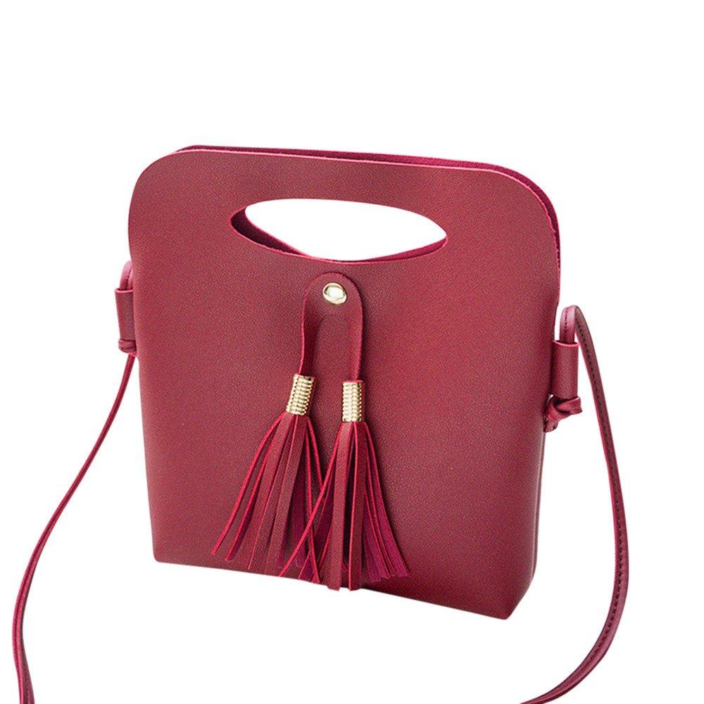 OHQ Shoulder Bag Noir Rouge Bleu Marron Rose Gris Mode Femmes Sac à BandoulièRe Main Seau De PièCe A Bandoulieres Pas Cher Marque Cuir Guess Langer