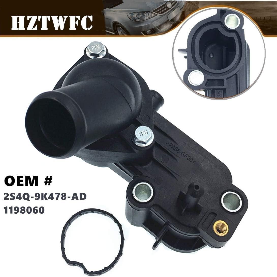 HZTWFC Coolant Thermostat Housing OEM # 2S4Q-9K478-AD 1198060