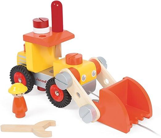 Janod - Camión Bulldozer (J06495): Amazon.es: Juguetes y juegos