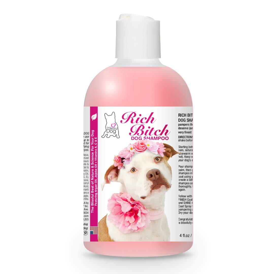 The Blissful Dog RB-PITTY-8OZ Staffordshire Terrier Rich Bitch Shampoo, 8 oz.