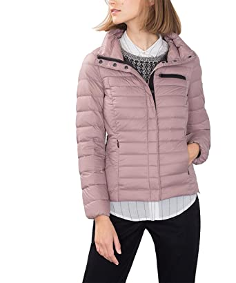 edc by ESPRIT Damen Superleichte Jacke