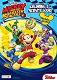Bendon 41723 Disney 224 Coloring and Activity Pages, Mickey and the Roadster Racers