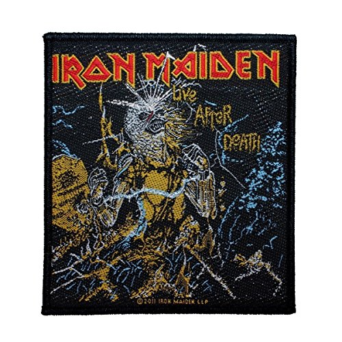 Iron Maiden Live After Death Patch Album Art Heavy Metal Woven Sew On Applique by Mia_you