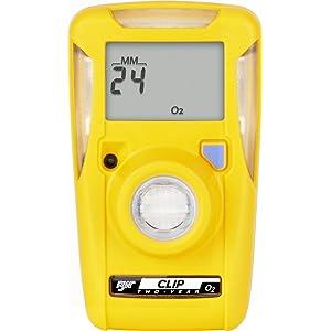 BW Technologies BWC2-X BW Clip Single Gas O2 Monitor, 19.5/23.5