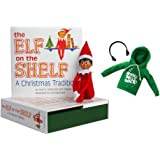 Elf on the Shelf Brown Eyed Boy Elf with Claus Couture Jingle Jam Hoodie Novelty