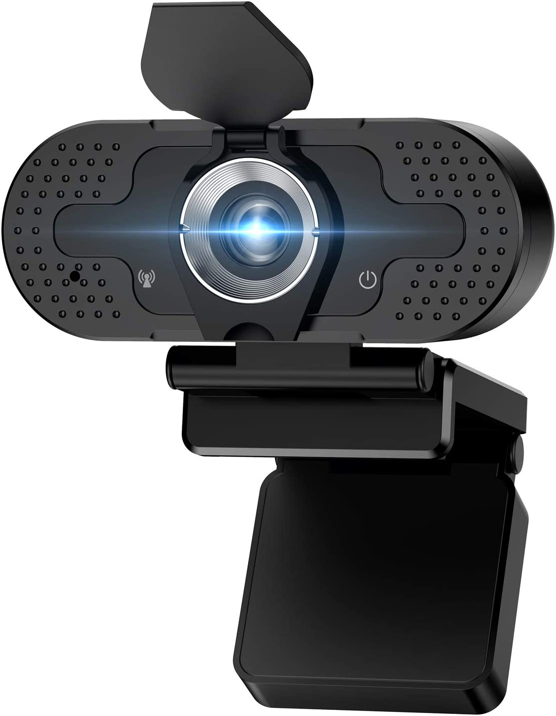 Webcam with Microphone, 1080P HD Live Streaming Webcam for Desktop or Laptop PC USB Plug and Play Camera for Computer Widescreen Video Calling, Recording, Conferencing, Online Classes,Streaming,Gaming
